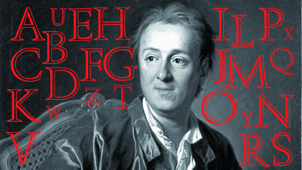 """Wir sind DA! denis-diderot Von """"Aberglaube"""" bis """"Zölibat"""" – Diderots Enzyklopädie Allgemein Veranstaltung"""