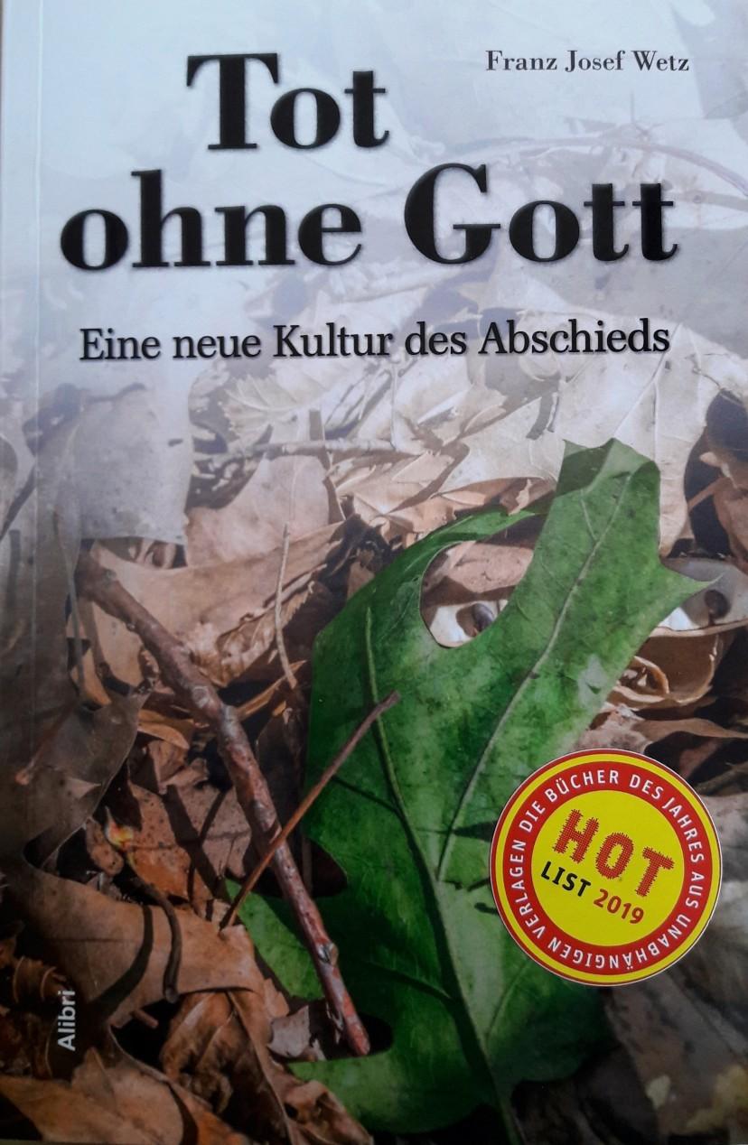 Wir sind DA! Cover_Tot_mit-Hotlist-Aufkleber Online-Salon: Tot ohne Gott - Eine neue Kultur des Abschieds Humanistischer Salon Veranstaltung