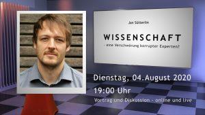 Wir sind DA! suetterlin-300x169 Wissenschaft - eine Verschwörung korrupter Experten? Humanistischer Salon Veranstaltung