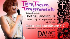 Wir sind DA! titel-4-300x169 Kunst und Aufklärung # 7: Dorthe Landschulz - Tiere, Thesen, Temperamente Aufklärungsdienst Veranstaltung